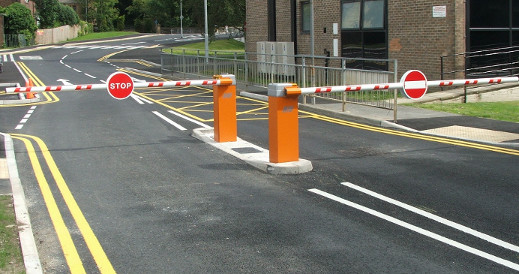 Commercial Security Barriers for businesses in Dorset & Hampshire Area